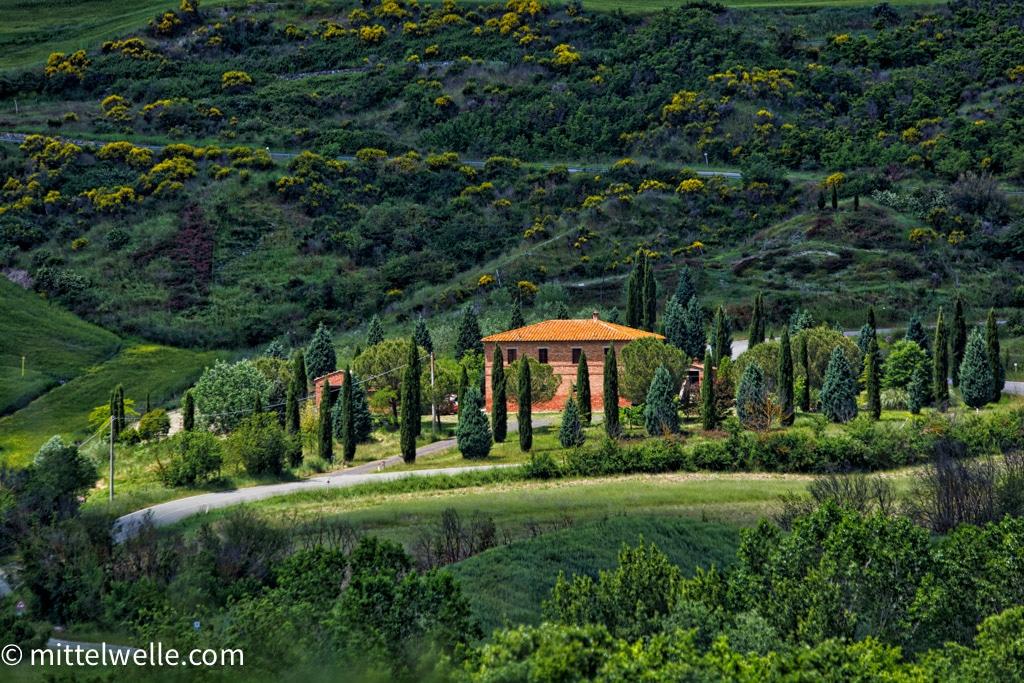 Steinhaus in der Toskana